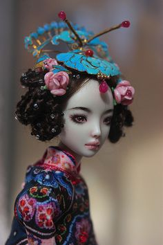 "✯ ★❤️^__^❤️★ ✯ ""ECHO"" Doll*icious Beauty--ENCHANTED DOLLS by Marina Bychkova ✯ ★❤️^__^❤️★ ✯"