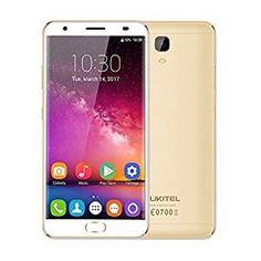 Oukitel K6000 Plus Smartphone Android 7.0 4GB RAM 64GB ROM MTK6750T 1,5GHz Octa Core Batería Alta Capacidad 6080mAh 5,5 Pulgadas 2,5D FHD Cámara 16 MP PDAF + 8 MP Cuerpo Metálico Carga Rápida, Durado