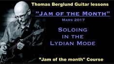 "Here´s my ""Jam of the Month"" in Mars and the basic mode I´m soloing with is the C major lydian to the jam track. There´s a guitar backing track to the jam and I give tips on scales and phrasing in the text to the back track. The C major scale in lydian mode and the pentatonic scales to be found in that mode are one of the topic in the lesson. #leadguitar #playguitar #guitarman #guitarjam #jamming #guitarlesson #guitarra #guitare #guitar #electricguitar #telecaster #guitarsolo"