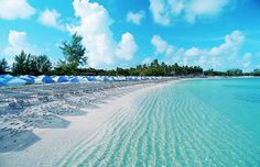 Great Stirrup Cay, Bahamas! Such a beautiful island with perfect waters. Ideal place to enjoy a Corona with lime.