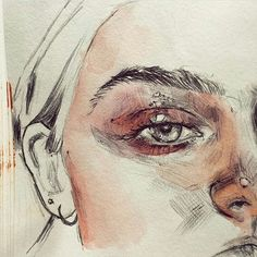 """2,814 tykkäystä, 11 kommenttia - ArteVM (@artevm) Instagramissa: """"Wow! Art Via @waaran #sketch #drawing #portrait #illustration #boceto #pencildrawing #amazing…"""""""