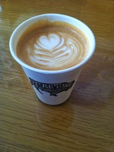 Stumptown's latte