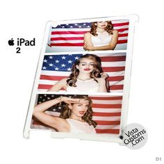 Lana Del Ray American Flag Phone Case For Apple, iphone 4, 4S, 5, 5S, 5C, 6, 6 +, iPod, 4 / 5, iPad 3 / 4 / 5, Samsung, Galaxy, S3, S4, S5, S6, Note, HTC, HTC One, HTC One X, BlackBerry, Z10