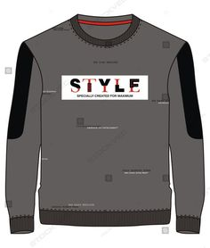 GET FREE VECTOR FILE BY CLICKING ON GREEN BUTTON Free Vector Files, Vector Free, Graphic Art, Green Button, Sweatshirts, Vectors, Mens Tops, Style, Fashion