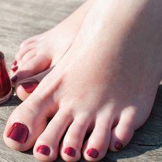unhas dos pés esmaltadas - Pesquisa Google