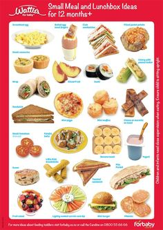 Food Ideas for Babies 12 Months Toddler Finger Foods, Healthy Toddler Meals, Toddler Lunches, Kids Meals, Healthy Snacks, Toddler Food, Healthy Pregnancy Meals, Toddler Dinners, Healthy Eating