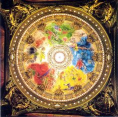 """Marc Chagall - """"Ceiling for the Paris Opera"""", 1963"""