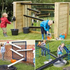 """56 likerklikk, 4 kommentarer – TTS Early Years (@tts_earlyyears) på Instagram: """"Outdoor water play inspiration. Check out our website for more ideas! #outdoors #outdoorfun…"""""""