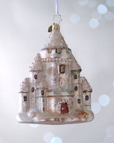 """Ocean View"" Christmas Ornament by Christopher Radko at Horchow.  $49.00"
