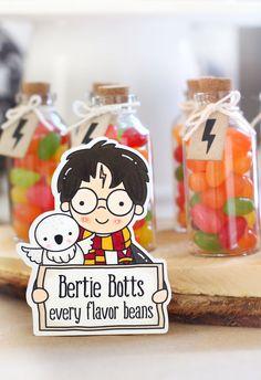 Harry Potter Halloween, Harry Potter Snacks, Baby Harry Potter, Harry Potter Motto Party, Harry Potter Thema, Harry Potter Fiesta, Harry Potter Candy, Harry Potter Classroom, Harry Potter Baby Shower