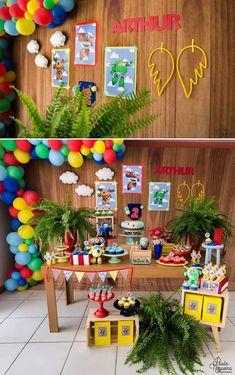Boy First Birthday, Boy Birthday Parties, 4th Birthday, Airplane Party, First Birthdays, Ss, Casual, Ideas, Fashion