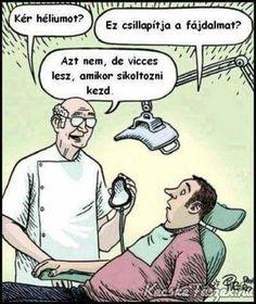 Funny Cartoon Jokes of the day Cartoon Jokes, Funny Cartoons, Funny Comics, Funny Jokes, That's Hilarious, Humor Dental, Medical Humor, Dentist Jokes, Dental Hygiene