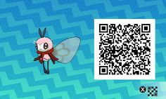 Pokémon Sol y Luna - 084 - Shiny Ribombee Pokemon Moon, Pokemon Sun Qr Codes, Pokemon Luna, Pokemon Rare, Code Pokemon, Pokemon Fan Art, Imgur Love, Nocturne, Tous Les Pokemon
