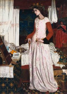 """""""La Belle Iseult"""" by William Morris. Combining two of my favorite things - Arthurian legend and pre-Raphaelite painting."""