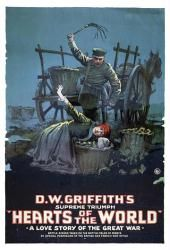 Hearts of the World movie poster [a D.W. Griffith film] 18 X 24 Only $7.97