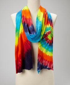 images of tie dye scarves - Google Search