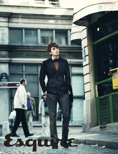 Lee Dong Wook in Paris for Esquire Korea