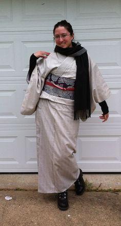 Winter tsumugi komon!