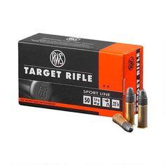 RWS Target Rifle .22 LR Ammunition 50 Rounds 40 Grain Lead Round Nose 1083 fps - 2132478 - 400029413278