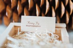 Woodland Album's gorgeous wooden USB and box for Fancy Fig Photography's 2016 Wedding Clients