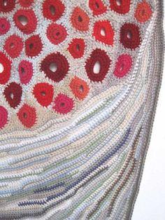 Freeform #crochet #artist Emily Barletta