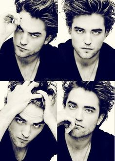 Robert Pattinson looking mighty pretty