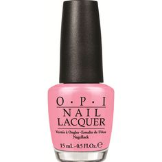 OPI Chic From Ears to Tail Nail Polish (NLM55) ($8.19) ❤ liked on Polyvore featuring beauty products, nail care, nail polish, nails, pink, opi, opi nail color, opi nail lacquer and opi nail varnish
