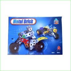 Metal Block Motorbike - Green Ant Toys Online Toys Store http://www.greenanttoys.com.au/shop-online/construction-toys/metal-block-toys/motorbike/