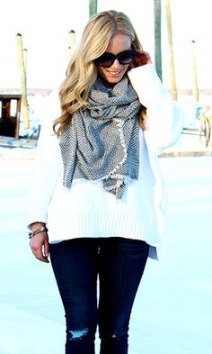 So cozy and chic.