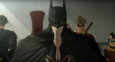Japan and DC Entertainment released the first teasers and images for their upcoming anime release, Batman Ninja. Batman Arkham, Batman Comics, Dc Comics, Anime Drawing Books, Batman Ninja, Funny Batman, Anime English, Upcoming Anime, Batman Hush