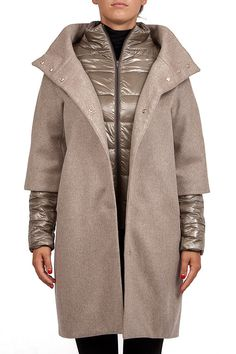 Groppetti Luxurystore PIUMINO LUNGO - Abbigliamento - Donna #herno Luxury Store, Ecommerce, Duster Coat, Beige, Jackets, Photography, Outfits, Collection, Dresses