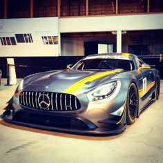 「The breathtaking Mercedes-AMG GT3 caught on camera.  #Mercedes #AMG #Cars #Beautiful #Luxury #Drive #GT3 Photo credit: @christopher_hugo」