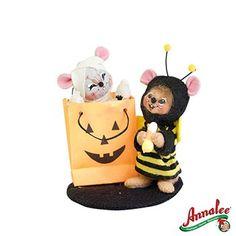 "Annalee Doll ""Halloween Trick Or Treat Mice"""