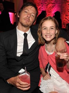 Norman Reedus and Madison Lintz attend the after party for AMC's 'The Walking Dead' Season 2 at Vibiana on October 3 2011 in Los Angeles California The Boondock Saints, Daryl Dixon, Walking Dead Season, Fear The Walking Dead, Madison Lintz, Daryl And Carol, Hollywood, Ballet, Film Serie