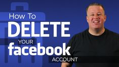 How To Delete Your Facebook Account Permanently~ PINNER NOTE:  Abandon this treasonous site.