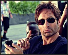 drunk jesus & dressed-up duchovny Hank Moody, Moody Quotes, Chris Carter, Jason Isaacs, Quick Thinking, David Duchovny, Gillian Anderson, Man Candy, Celebrity Crush