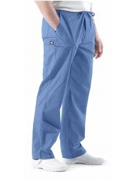 Dickies Drawstring Trousers - suitable for Ladies or Gents. Can be ordered in Navy or Ceil. cotton from Happythreads Happy Threads, Harem Pants, Trousers, Medical Uniforms, Medical Scrubs, Head To Toe, Work Wear, Parachute Pants, Unisex