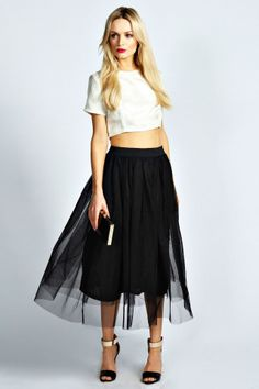 Colette A Line Midi Skirt