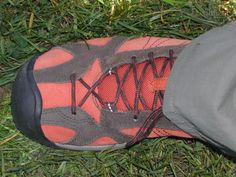 KEEN is a true gift to me, since I'm very hard to fit properly. I wear, depending on the brand, a Men's 9 2E or even a 4E, with a high forefoot and arch and a disproportionately narrow heel. I think KEEN had me in mind with their shoes, since width and height has never been a problem. And that's coming from someone who once drove a shoe-store clerk to distraction after a two-hour marathon to find a light hiking shoe that fit properly.