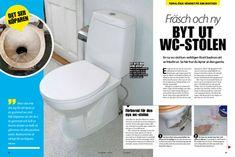 Toalett – byt ut den gamla toalettstolen | Gör Det Själv Toilet, Bathroom, Washroom, Flush Toilet, Full Bath, Toilets, Bath, Bathrooms, Toilet Room