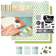 """Scrapbooking Sue: NEW """"Stretching Your Workshops"""" Program! Purchase the Close To My Heart (CTMH) Seaside Workshops On The Go Kit from me and receive my exclusive program for 4 additional layouts for FREE! http://scrapbookingsue.ctmh.com/Retail/Product.aspx?ItemID=8128&ci=1356 www.scrapbookingsue.com"""