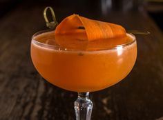 Tiger Boys: spikes carrot juice with Espolón Reposado Tequila and then spices it up with cardamon, ginger, and lemon