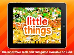 Little Things app is $3.  Fun Look-and-Find app great for categorization!