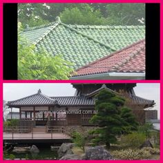 ❤️❤️❤️❤️I love the rooftop of 2nd home on the bottom❤️❤️❤️❤️ Imagine if it had the roof the same color as the Top Photo. ❤️❤️❤️❤️What a Beautiful Traditional Japanese Home that would be..❤️❤️❤️❤️ My Dream Home Inspiration Photo❤️❤️❤️❤️ I hope I win the lottery one day! this is how I imagine my Custom Designed home would look... something similar to this photo.................................. Green Roofs, Winning The Lottery, Japanese House, Traditional Japanese, Top Photo, My Dream Home, Rooftop, Custom Design, House Design