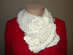Irish lace scarf I made