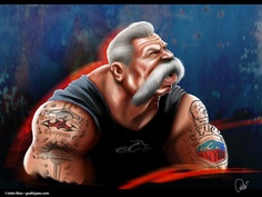 Paul Teutul Sr. (Father from Orange County Choppers) (by John Rios)