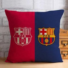 Barcelona FC Throw Pillow Case