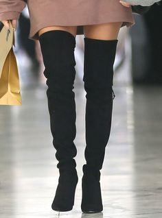 Kourtney Kardashian rocks a pair of over-the-knee boots