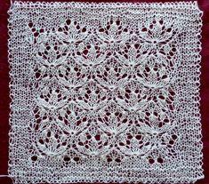 Estonian Starflower Lace - ravelry link: http://www.ravelry.com/patterns/library/estonian-starflower-square