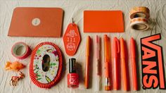 ORANGE THINGS - COLOR//COLOUR LOVERS PROJECT